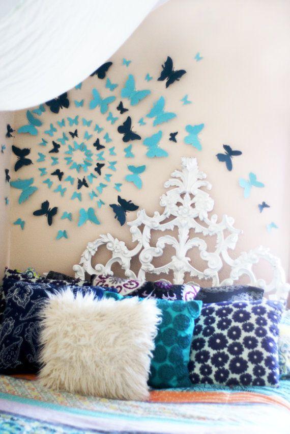 3d Wall Art Decor best 25+ butterfly wall art ideas on pinterest | 3d butterfly wall