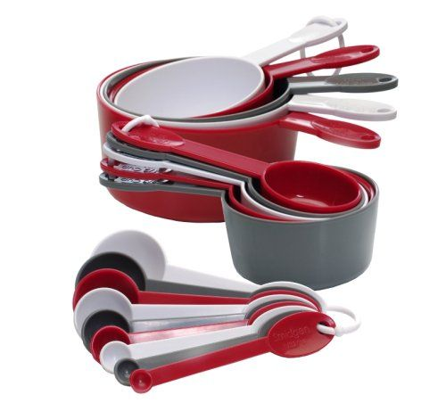 Progressive GT-3520 International 19-Piece Measuring Cup and Spoon Set - I love my set, makes measuring so simple!  And a great price!