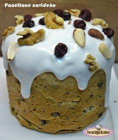 PANETTONE (PAN DULCE) - Con un toque de azúcar Pan dulce navideño, panettone