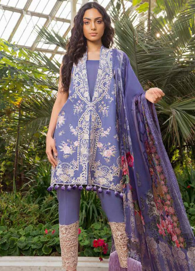 06d6569978 Sobia Nazir Embroidered Lawn Unstitched 3 Piece Suit SN19L 12A - Spring / Summer  Collection