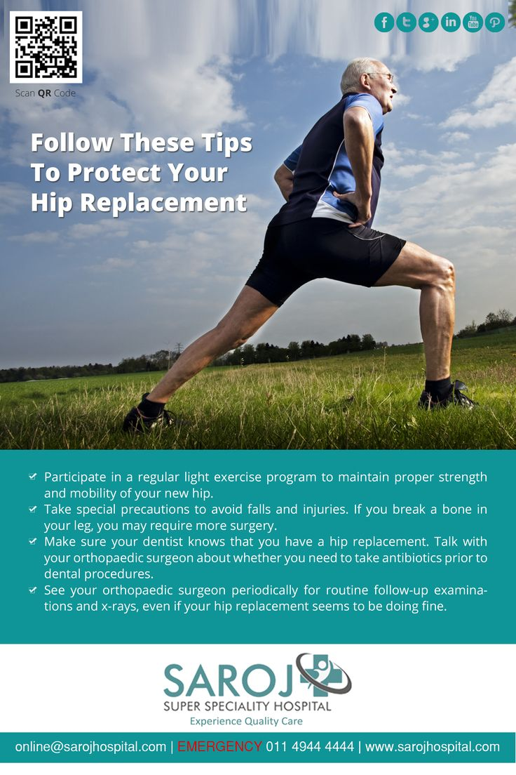 To keep your newly replaced hip joint healthy, you may need to follow a few ‪#‎health‬ tips. Here are some handy tips to keep your ‪#‎HipJoint‬ fit. http://bit.ly/293Ztfg