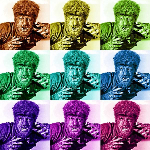 Lon Chaney, Jr. as The Wolfman