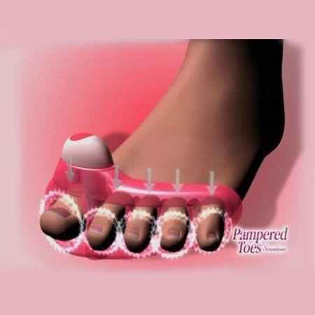 """Массажер для пальцев ног """"Счастливые пальчики"""" по низкой цене. Купить в интернет-магазине Meleon.ru"""