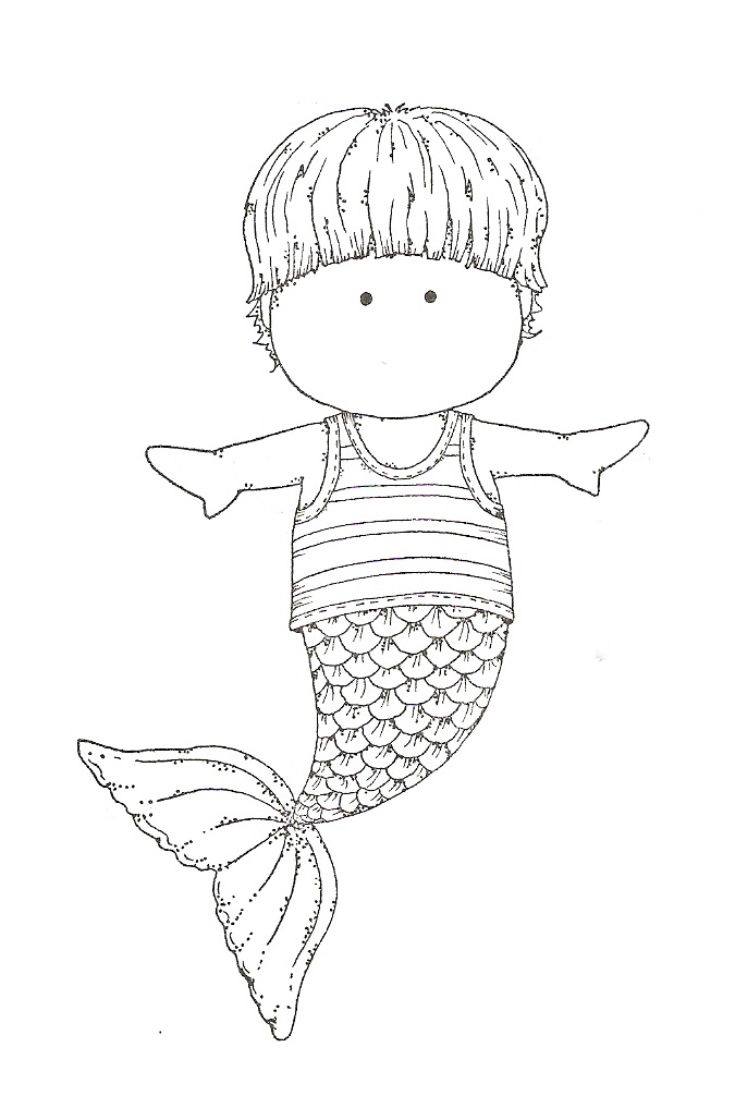 mermaid tail coloring pages Coloring