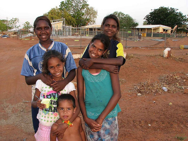 Australia, our people. There's nothing so gorgeous as an aboriginal baby and toddler. I love them.