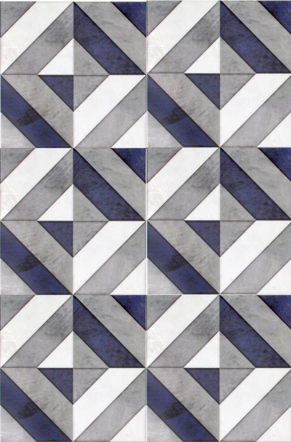 25 best ideas about floor patterns on pinterest wood for Blue patterned bathroom tiles