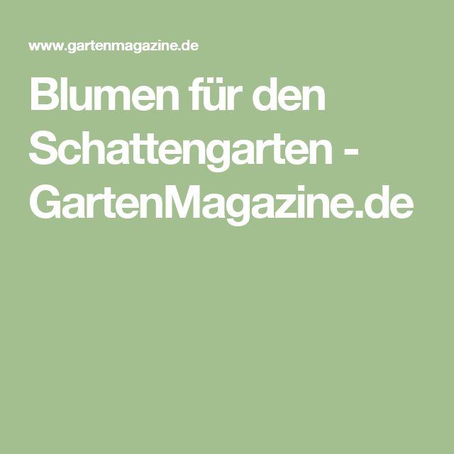 Blumen für den Schattengarten - GartenMagazine.de
