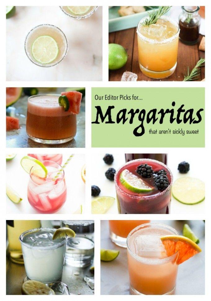 8 Margaritas That Aren't Sickly Sweet