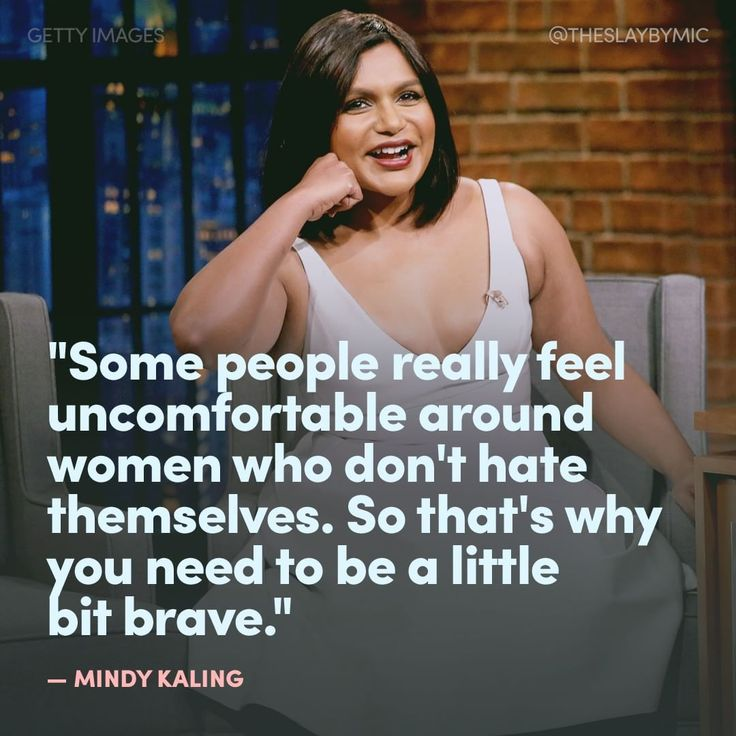 GIRLBOSS MOOD: Mindy Kaling explains that it's a good thing to not give a fuck.
