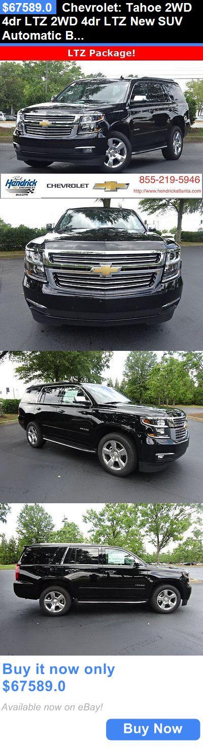 SUVs: Chevrolet: Tahoe 2Wd 4Dr Ltz 2Wd 4Dr Ltz New Suv Automatic Black BUY IT NOW ONLY: $67589.0