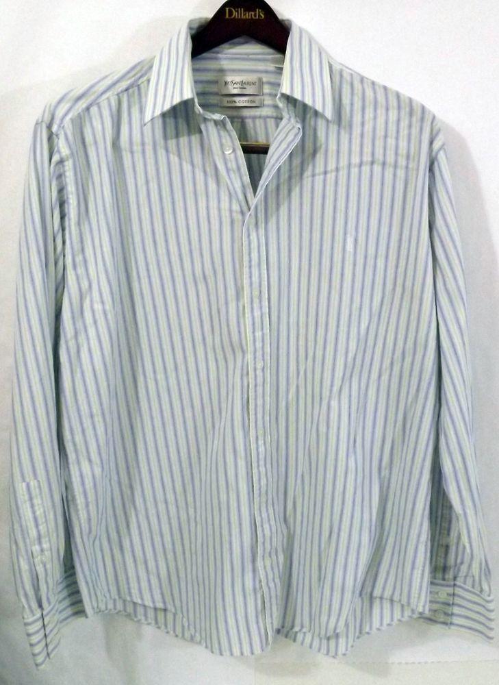 ysl button shirt