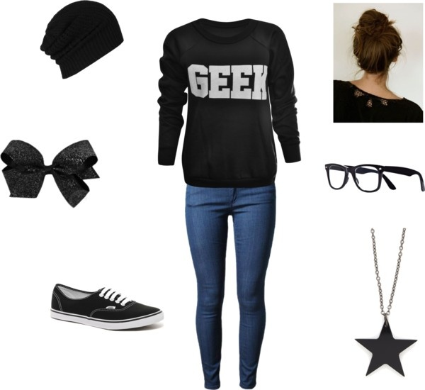 """Geek Outfit"" by apulley3812 ❤ liked on Polyvore"