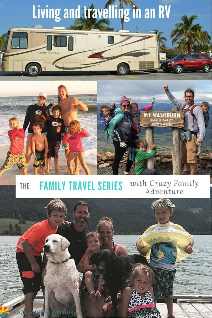 Family Travel Series: tIPS ON TravelING in an RV full-time