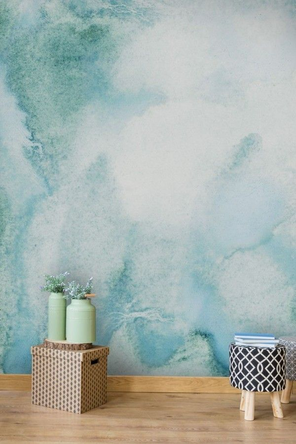 Wall Color Watercolor Great Ideas For Every Homeowner Teal