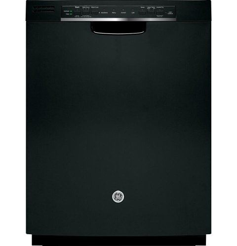 GE GDF540HGDBB 24 Black Full Console Dishwasher - Energy Star GEs Most Advanced Wash System. Piranha Hard Food Disposer With Removable Filter. 2 Utility Shelves With StemSafe - Upper. Dimensions (WHD): 34 In X 23 3/4 In X 24 In.  #GE #MajorAppliances