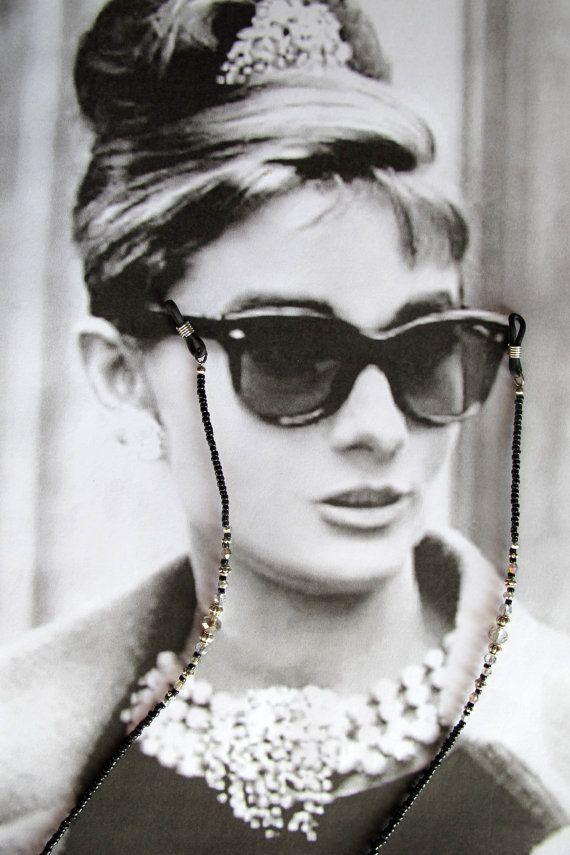 Just Glasses Damen Brillenband Schwarz Schwarz onesize
