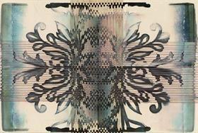 Čtyřdílná vliesová fototapeta Dlaždice, 368x248cm, XXL4-005