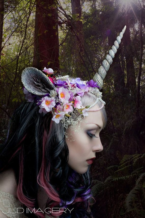 because everyone needs a unicorn headpiece  http://www.etsy.com/listing/152250428/customizable-unicorn-horn-and-ears