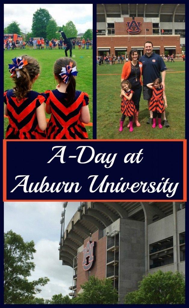 Auburn University A-Day 2015 http://www.sarahinthesuburbs.com/auburn-university-a-day-2015/