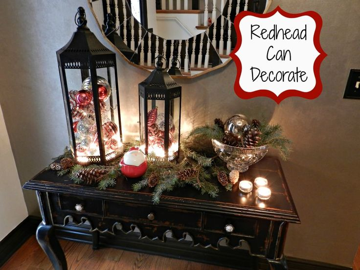 Christmas Decorating (like they do in the magazines) - Redhead Can DecorateRedhead Can Decorate