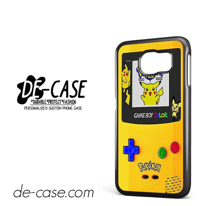 Gameboy Color Pokemon Edition DEAL-4596 Samsung Phonecase Cover For Samsung Galaxy S6 / S6 Edge / S6 Edge Plus