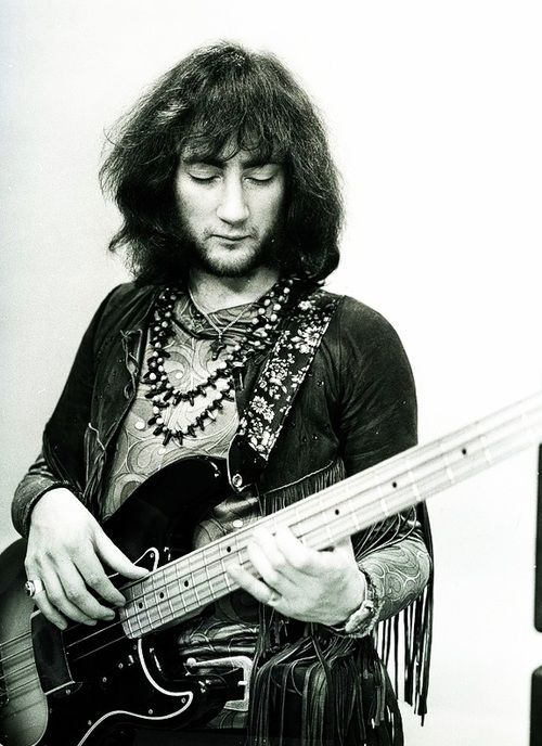 Roger Glover - bassist in Deep Purple's classic line-up. Subsequently joined Ritchie Purple in Rainbow.