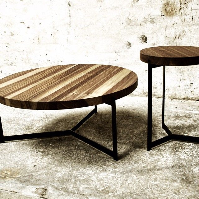 The PLATEAU coffee/side tables designed by Søren Rose Studio for dk3