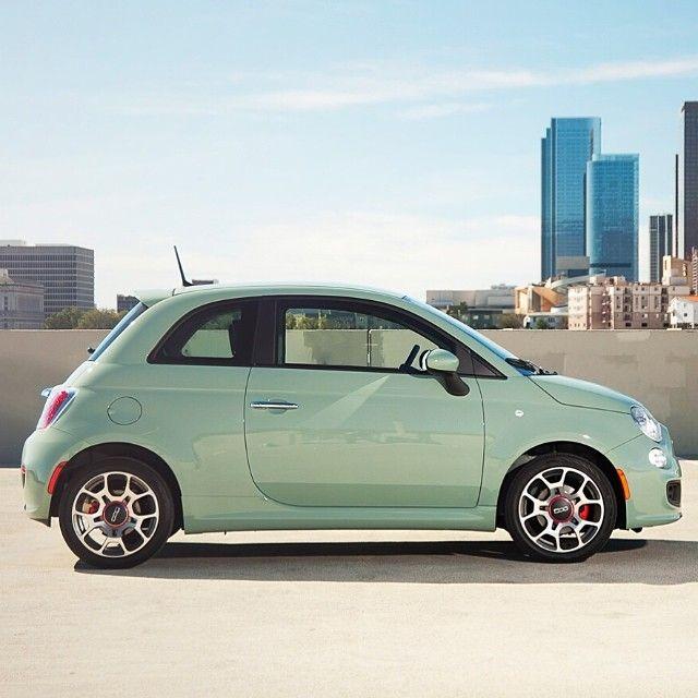 #Fiat500  #lattementagreen  Moderno, innovador y con gran capacidad de personalización www.cochessegundamano.es/fiat/500/