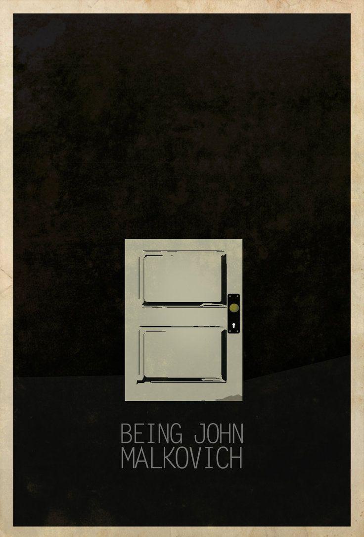 Being John Malkovich (1999) ~ Minimal Movie Poster by Edgar Ascensao ~ Movie Door & Best 25+ Being john malkovich ideas on Pinterest | Memento movie ... Pezcame.Com