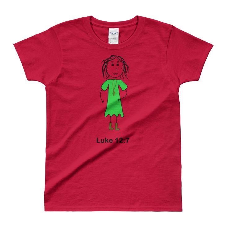 Ladies' T-shirt Luke 12:7
