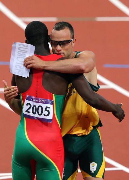 (Most inspiring moment)  Oscar Pistorius Photo - Olympics Day 9 - Athletics