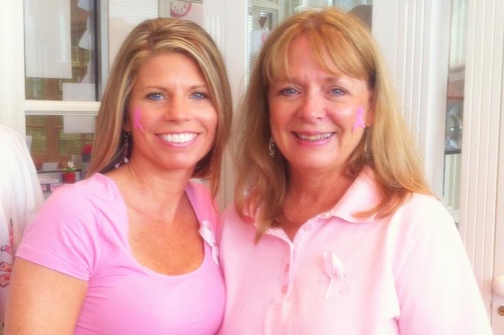 My dear friend and breast cancer survivor #pinittoendit