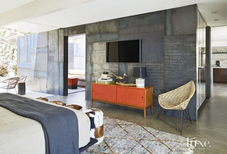 Piercing The Envelope Of The House A Rolled Steel Wall In