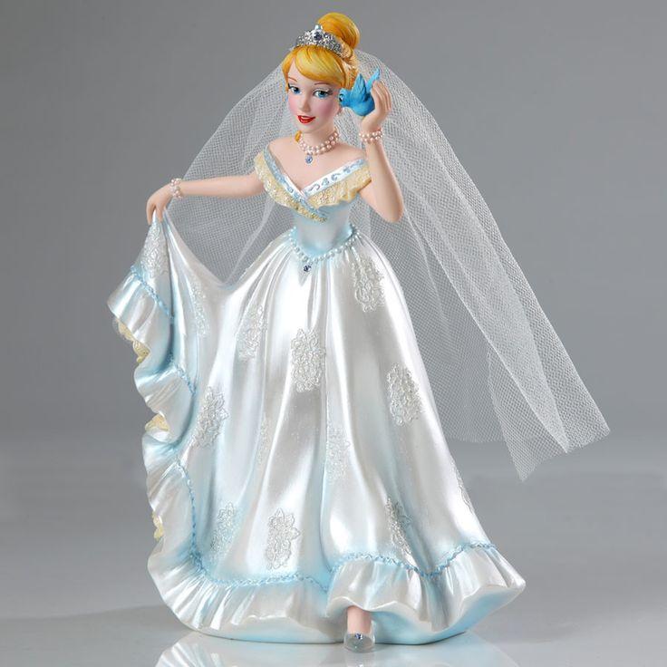 Cinderella - Cinderella Wedding Couture de Force - World-Wide-Art.com - #disney #disneyshowcase #figurines #cinderella #wedding