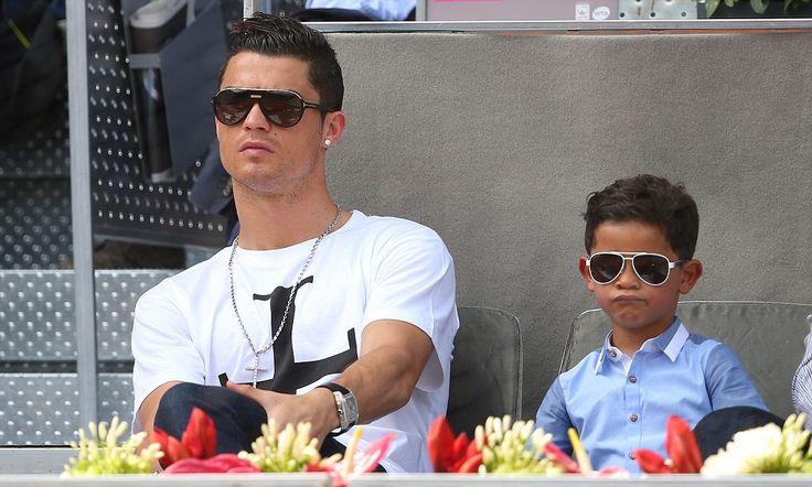 Cristiano Ronaldo's son told mum was dead and has no idea who she is
