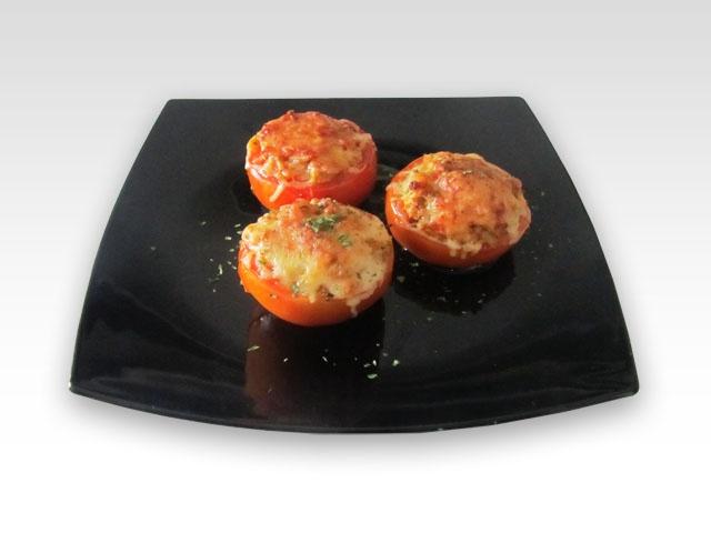 Recette : Tomates farcies au bonito