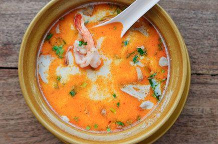 Συνταγές για Μπισκ / Μπισκ με Γαρίδες / thefoodproject.gr