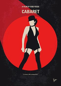 Chungkong Art - No742 My Cabaret minimal movie poster