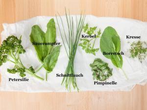 7 Kräuter für die original Frankfurter Grüne Soße http://www.fuersie.de/kitchen-girls/rezepte/blog-post/frankfurter-gruene-sosse