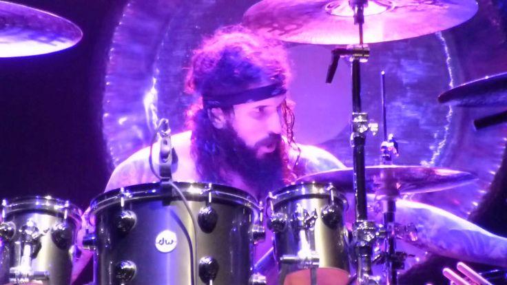 Black Sabbath -Tommy Clufetos Drum Solo/ Iron Man @ Los Angeles Sports A...