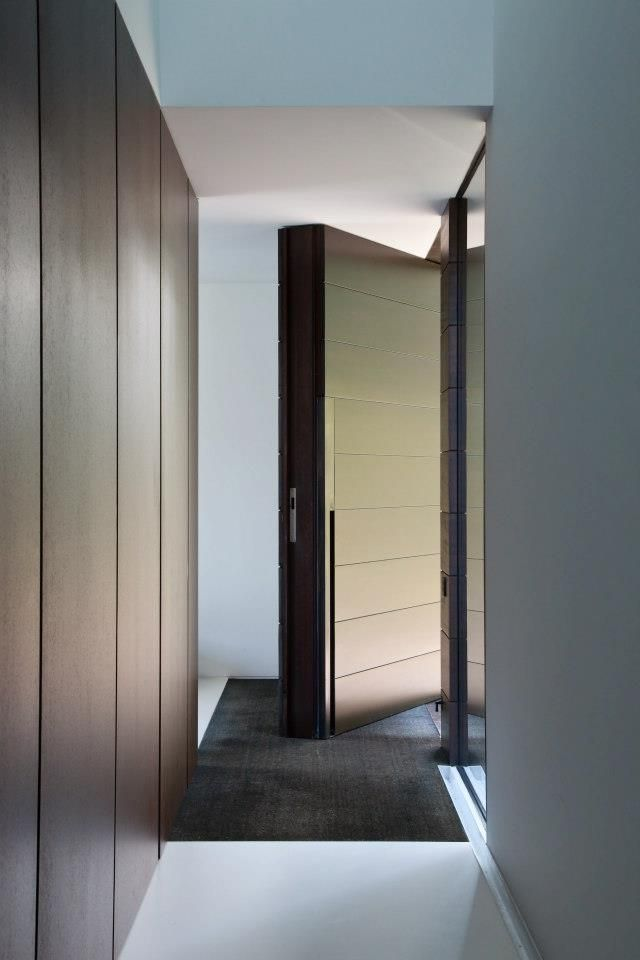 Entrance door by Pascal Francois Architects
