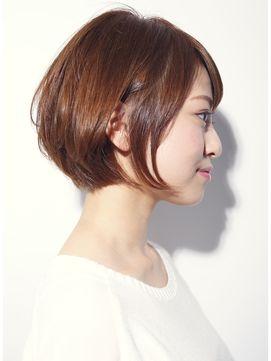 【DECO・穂積聡】#大人かわいい美髪シルエットショートボブ - 24時間いつでもWEB予約OK!ヘアスタイル10万点以上掲載!お気に入りの髪型、人気のヘアスタイルを探すならKirei Style[キレイスタイル]で。