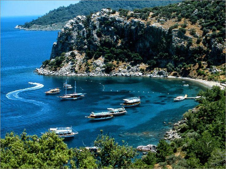 Arkeoloji Dia: Doğal Alanlar ve Milli Parklar-Muğla / Marmaris Milli Parkı ( Marmaris National Park )