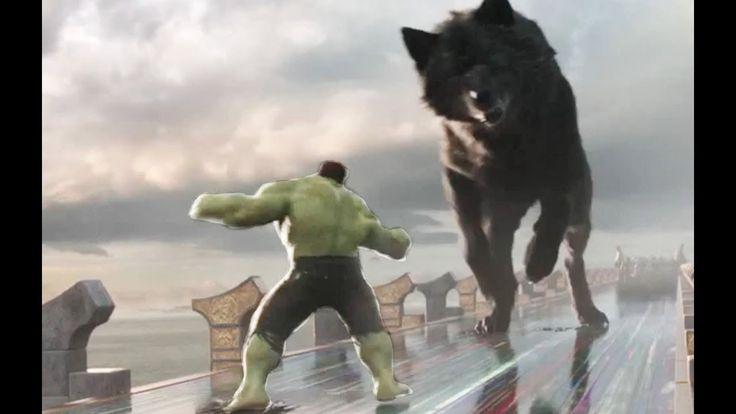 Thor Ragnarok -  ALL HULK Funny Fight Scenes  | Surtur Destroyed Asgard ...