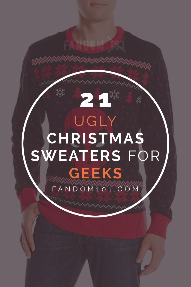 21 Unique Ugly Christmas Sweaters for Geeks You Can Get on Amazon