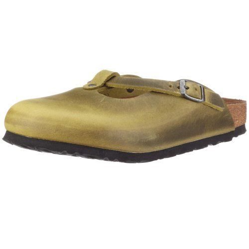 Birkenstock Fayette Smooth Leather, Style-No. 16181, Women Clogs, Antique Olive, Normal Width Birkenstock. $73.18. leather