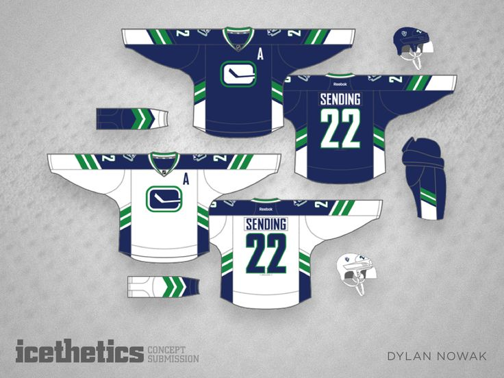 The Canucks are one of those teams that could use a solid update to their  identity. They've already got a lot of pieces to the puzzle. They just need  to put them together properly. Dylan Nowak may have nailed it with this  concept as far as I'm concerned.
