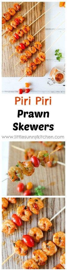 Easy Piri Piri King Prawns barbecue recipe for the perfect barbecue gathering!