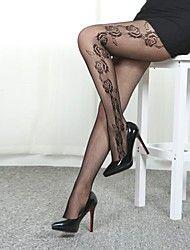 Women's Fashion Sexy Upright Rose Pantyhose – EUR € 6.70