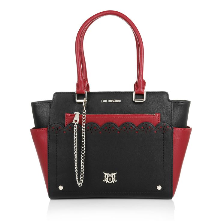 Moschino Borsa Small Grain handbag
